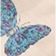 Pillangó mintás környezetbarát oldaltáska különböző színkombinációban 4 db.