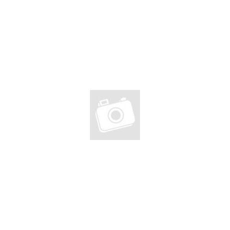 Satin alkalmi táska virágdísszel piros