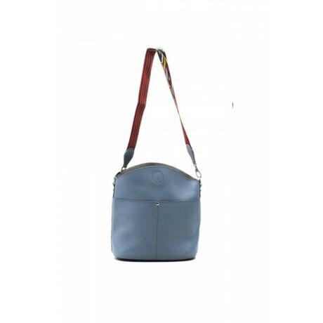 Kis vödör táska színes vállpánttal