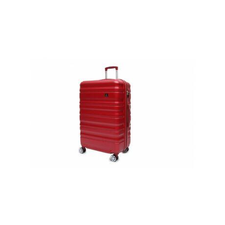 Gurulós bőrönd számzárral 40 literes