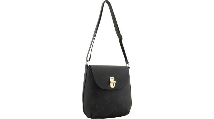 Amelia válltáska - Fekete női táskák - TáskaTár - a divatos női táska és férfi  táska webáruház 8ee3dd5c22